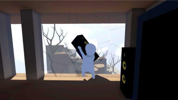 Human: Fall Flat Stereo Speaker