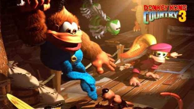 8. Donkey Kong Country 3: Dixie Kong's Double Trouble!
