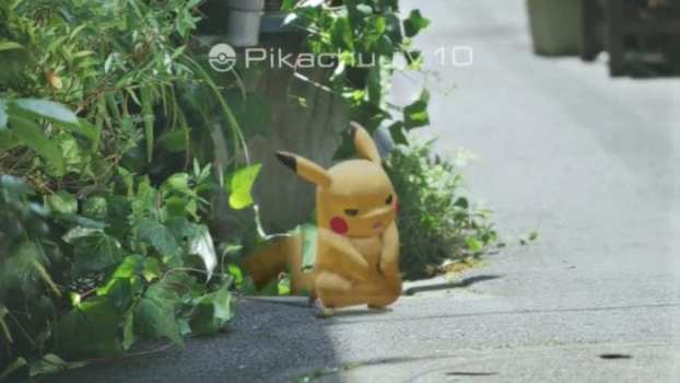 You can feel a Pokemon's presence around you even without your phone.