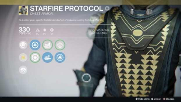 Starfire Protocol - Chest Armor