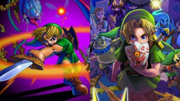 Ocarina of Time (N64) vs. Majora's Mask (N64)