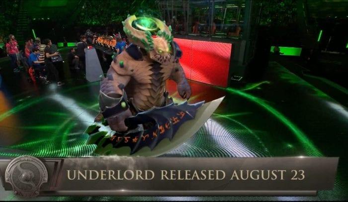 New Dota 2 Hero Underlord Revealed At The International