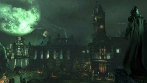 Which Four Villains Were Previously Staff Members of Arkham Asylum?