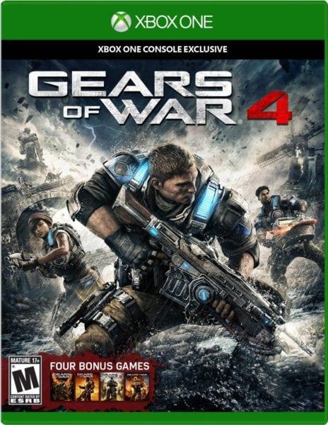 box art, gears of war 4