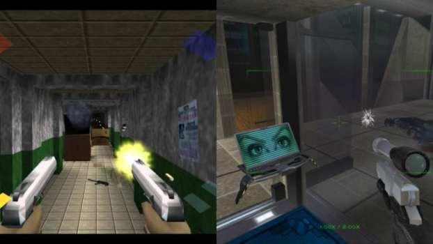 Goldeneye 007 (N64) vs. Perfect Dark (N64)
