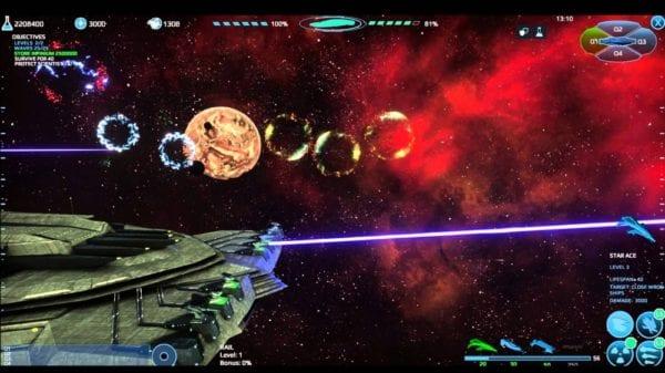 Infinium Strike, Gameplay