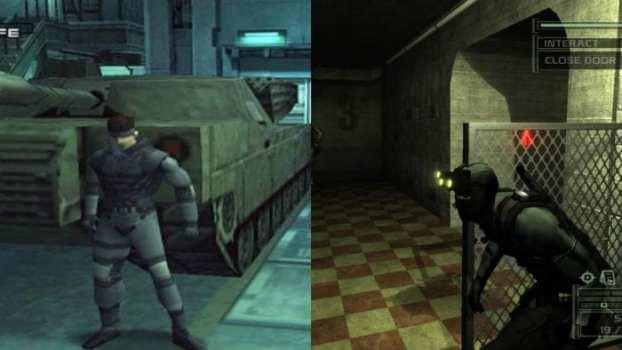 Metal Gear Solid (PS1) vs. Splinter Cell (Xbox)