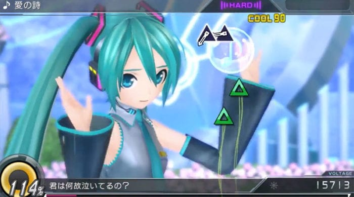 project diva x gameplay