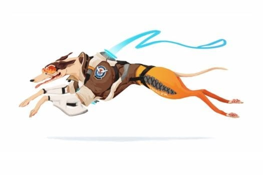 tracer overwatch dog