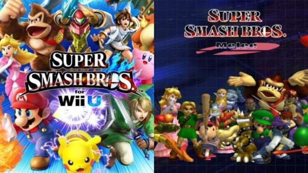 Super Smash Bros for Wii U vs. Super Smash Bros. Melee