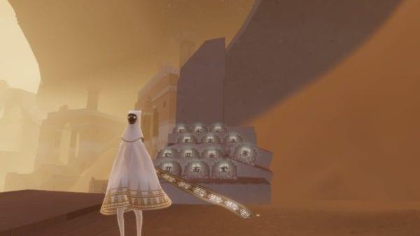 Journey ,White Robe