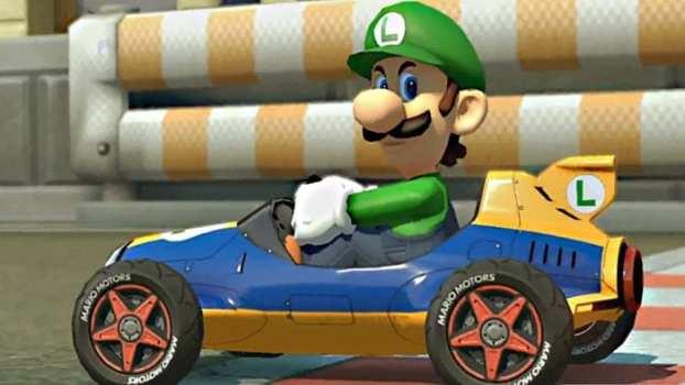 He's turned Luigi into a rage-fueled maniac.