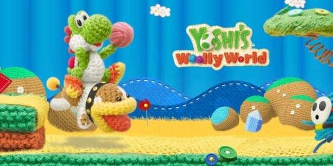 1. Yoshi's Wooly World