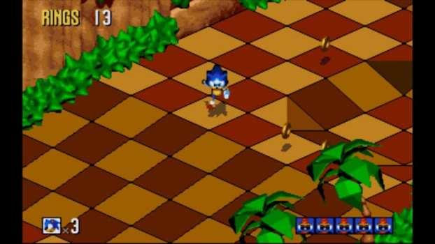 Sonic 3D Blast - Sega Genesis (1996)