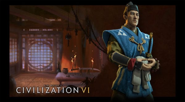 CIVILIZATION VI: HOJO TOKIMUNE LEADS JAPAN