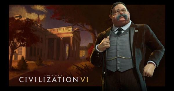 Civilization VI leader americans roosevelt