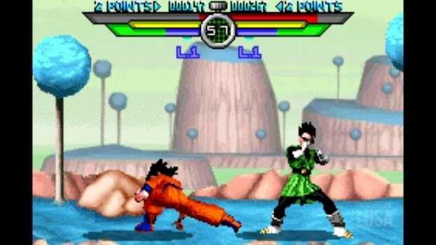 37. Dragon Ball Z: Taiketsu (GBA)