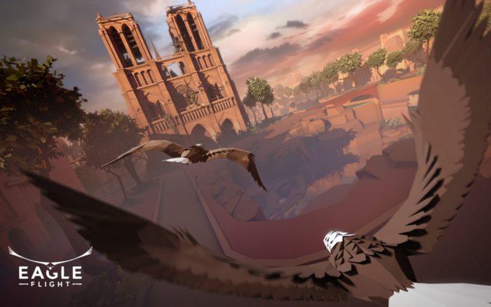 eagle flight, vr, PSVR, playstation