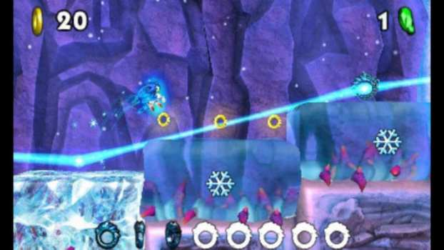 Sonic Boom: Fire and Ice - Nintendo DS (2016)