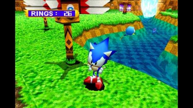 Sonic Jam - Sega Saturn (1997)