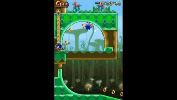 Sonic Rush Adventure - Nintendo DS (2007)