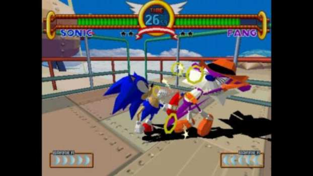 Sonic the Fighters - Arcade (1996)