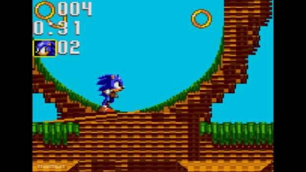 Sonic Triple Trouble - Game Gear (1994)