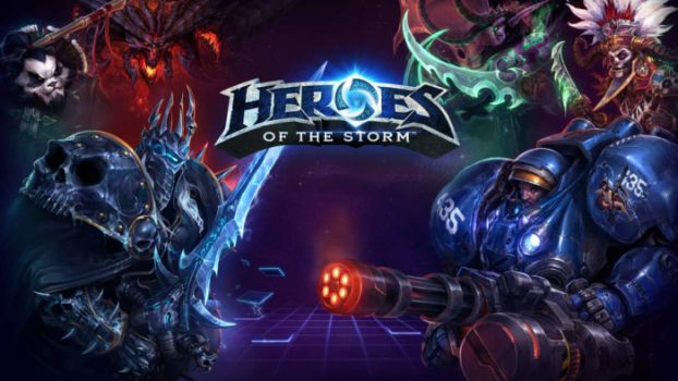 8) Heroes of the Storm - 6.5 Million Monthly Players
