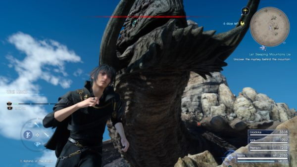 Final Fantasy XV How To Beat The Adamantoise