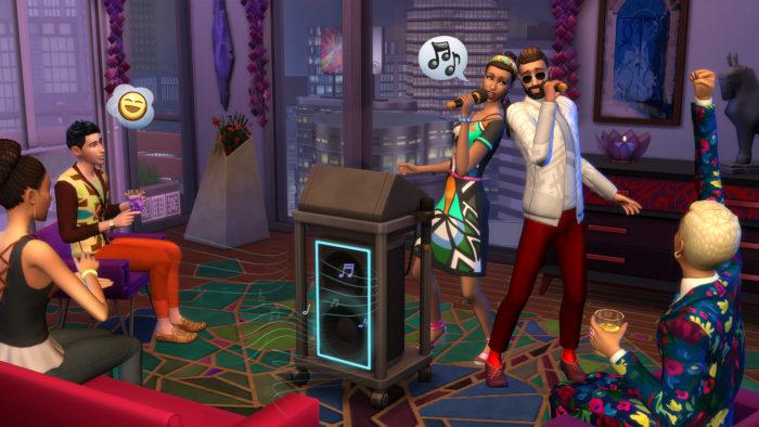 the sims 4 city living no celebrities