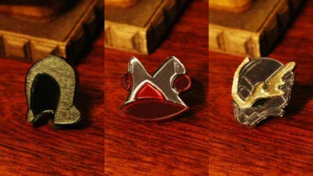 Bravely Default Asterisk Pins