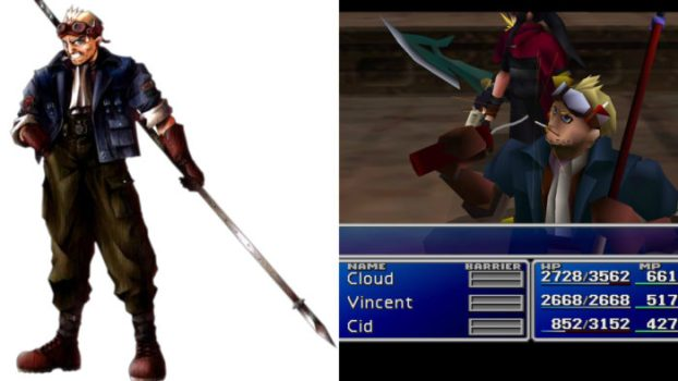 Final Fantasy VII - Cid Highwind