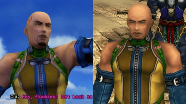 Final Fantasy X and X-2 - Cid