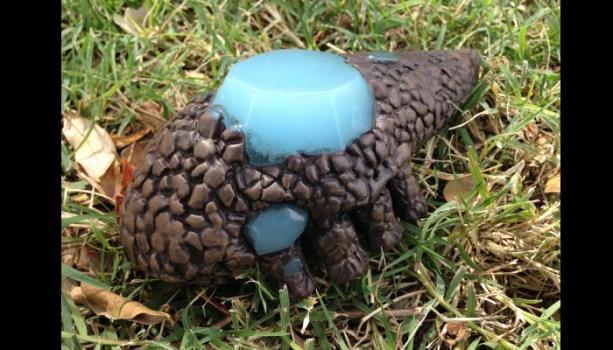 Crystal Lizard Sculpture