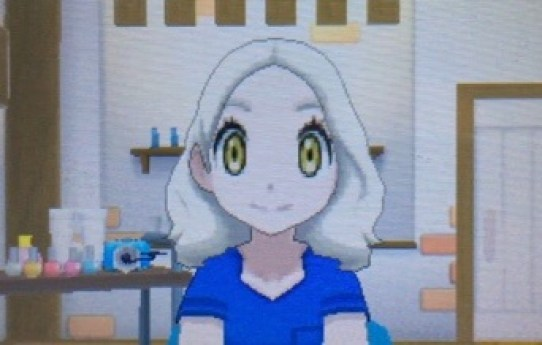 Pokemon Sun and Moon Hair Colors