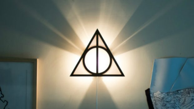 Deathly Hallows Wall Sconce