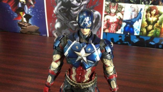 Captain America Play Arts Kai Figure