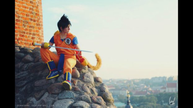 Kid Goku - Dragon Ball