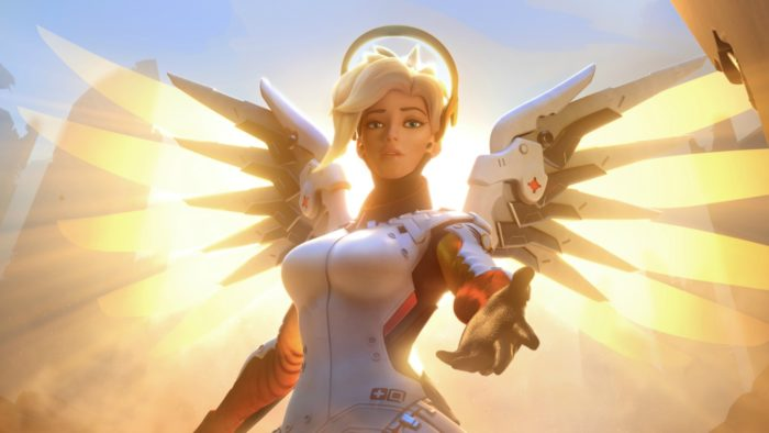 mercy, overwatch, blizzard