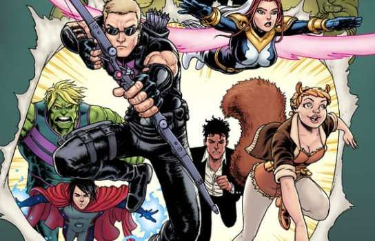 New Avengers: A.I.M. (Writer: Al Ewing/Artist: Various/Colorist: Dono Sanchez Alamara & Jesus Aburtov