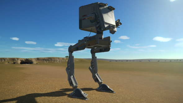 Star Wars AT-ST High Detail