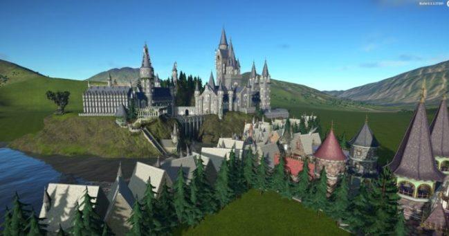 Hogwarts + Hogsmeade
