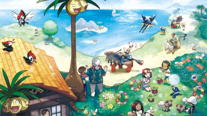 Pokemon Sun and Moon, realxing