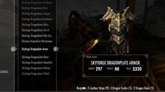 Skyforge Dragonbone Weapons and Dragonplate Armor (PC, PS4, Xbox One)