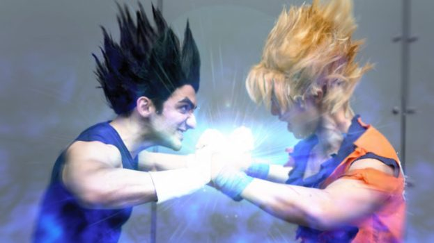 Vegeta and Goku - Dragon Ball Z
