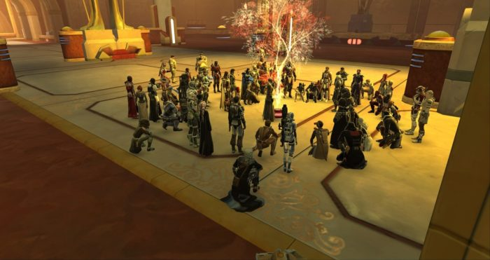 bioware, Star Wars: The Old Republic, Carrie Fisher