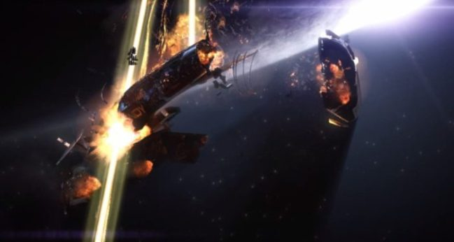 2183 CE - Normandy Attacked By Collectors, Commander Shepard Dies, Events of Mass Effect 2 Begin