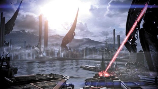 2186 CE - Earth Attacked By Reapers, Events of Mass Effect 3 Begin