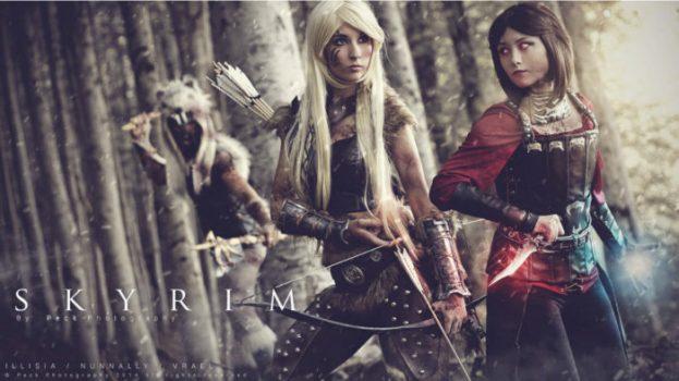 Barbarian, Dovahkiin, and Serana