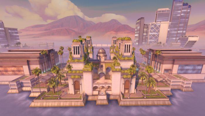 overwatch, oasis, map, gardens, transaltion, arabic